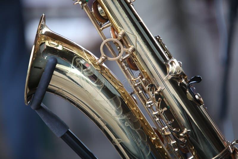 Saxophoninstrument lizenzfreie stockbilder