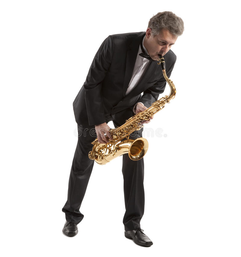 Download Saxophonist Royalty Free Stock Photography - Image: 30548587