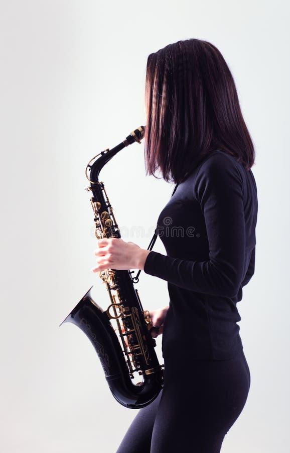 Saxophoniste photos libres de droits