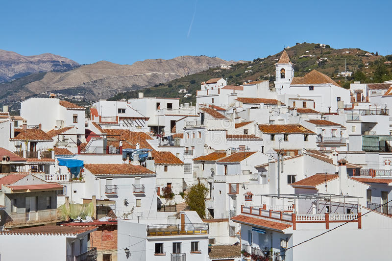 Sayalonga Village in Malaga, Spain. Sayalonga is a town and municipality in the province of Málaga, part of the autonomous community of Andalusia in southern stock photos