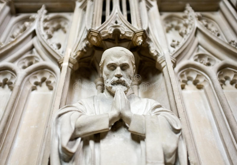 Download Saying a Prayer - Faith stock image. Image of sculpture - 24284537