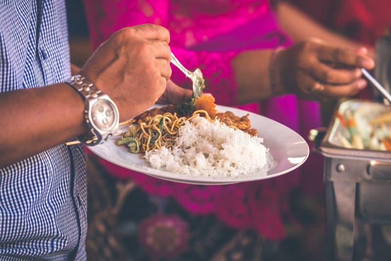 Sazii Ayam o il pollo Satay, alimento indonesiano Isola di Bali fotografie stock libere da diritti