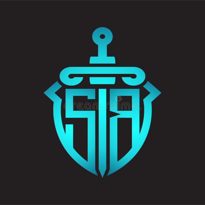 SB S B Alphabet Letter Logo Combination Icon Alphabet
