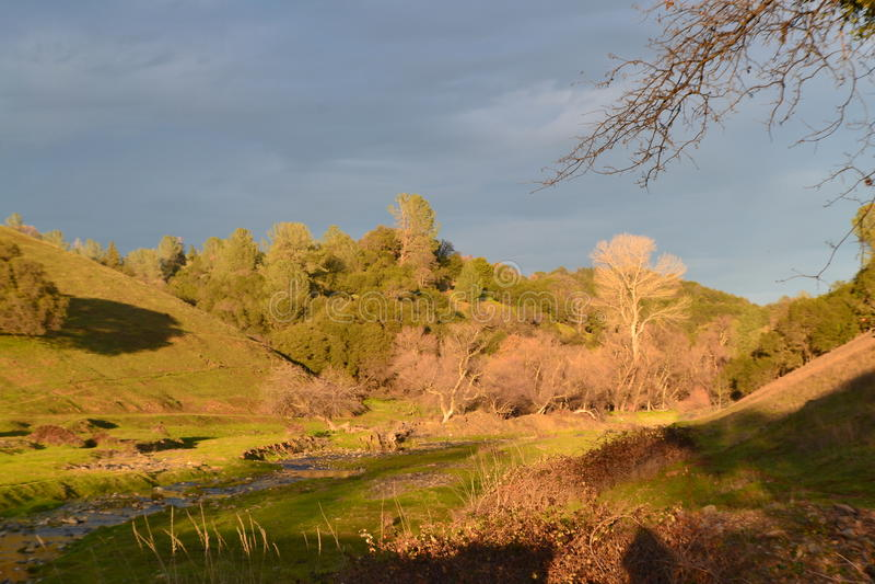 Sbarco rurale fotografia stock libera da diritti