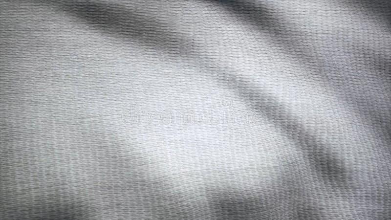 Sbattimenti del panno Onde dell'animazione della tela Fondo del tessuto del raso Animazione del fondo del tessuto che fluttua nel fotografia stock libera da diritti