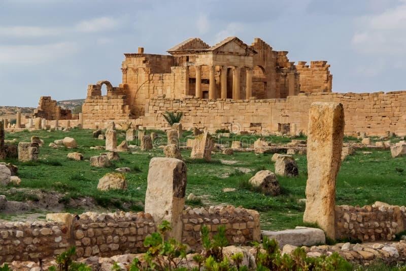 Sbeitla, Tunísia foto de stock royalty free