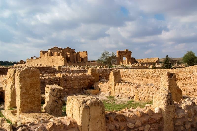 Sbeitla, Tunísia foto de stock