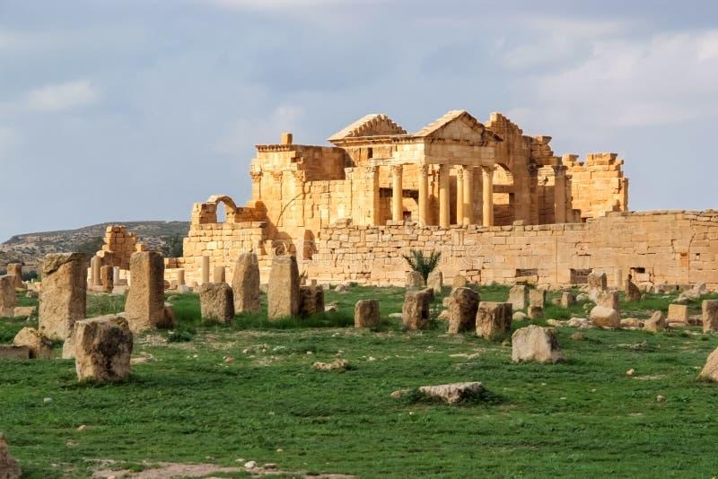 Sbeitla, Tunísia fotografia de stock royalty free