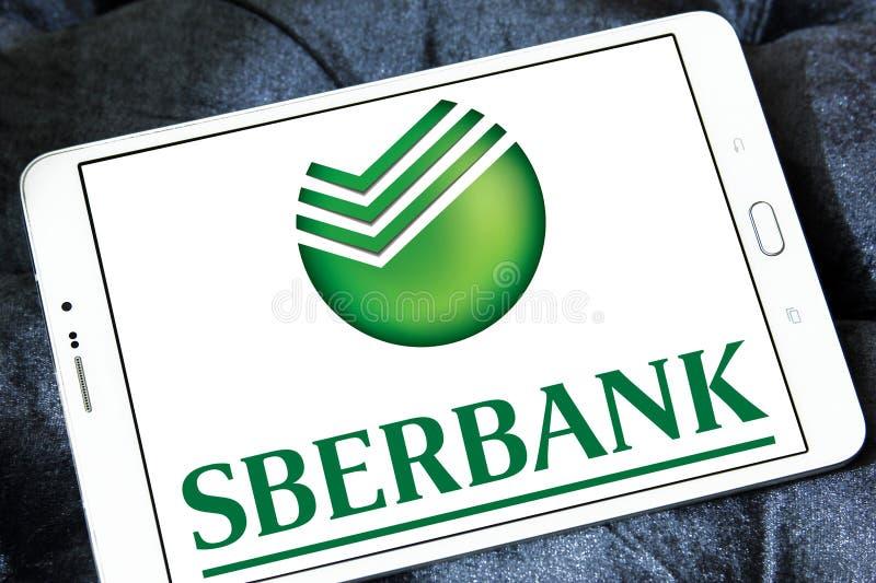 Sberbank του λογότυπου της Ρωσίας στοκ εικόνες