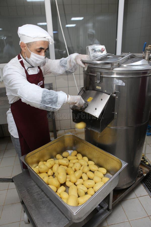 Sbucciatrice della patata. fotografia stock libera da diritti