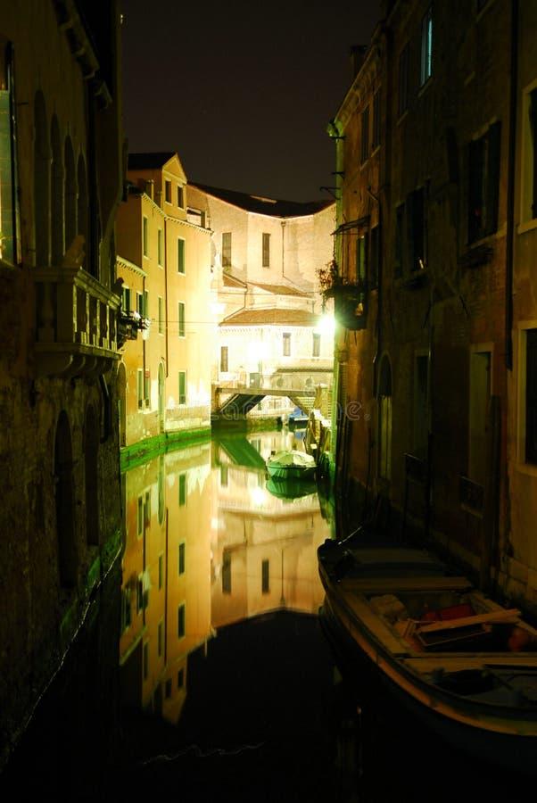 Scène 5 van de Nacht van Venecian royalty-vrije stock foto