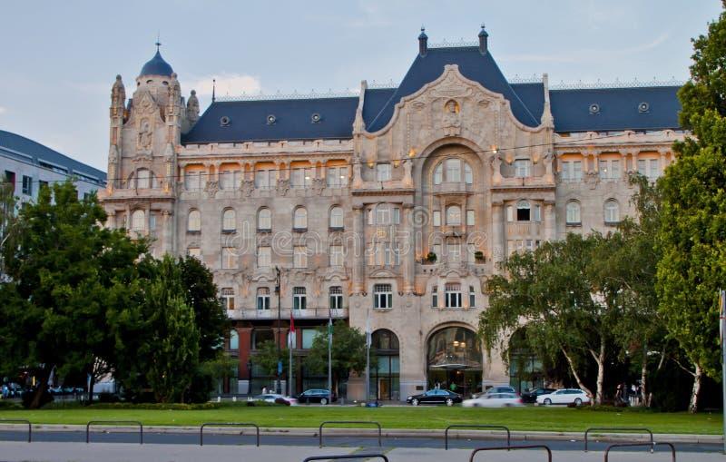 Scène binnen, Boedapest Hongarije royalty-vrije stock afbeeldingen