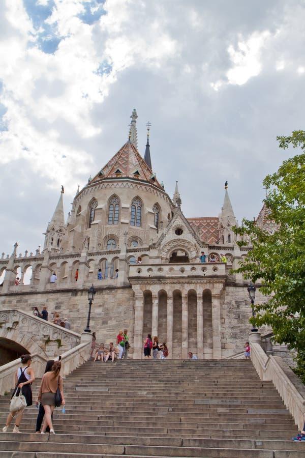 Scène in Boedapest, Hongarije royalty-vrije stock foto's
