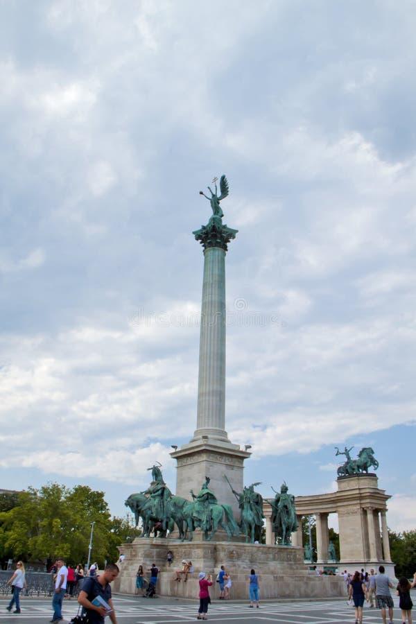 Scène in Boedapest, Hongarije royalty-vrije stock afbeelding