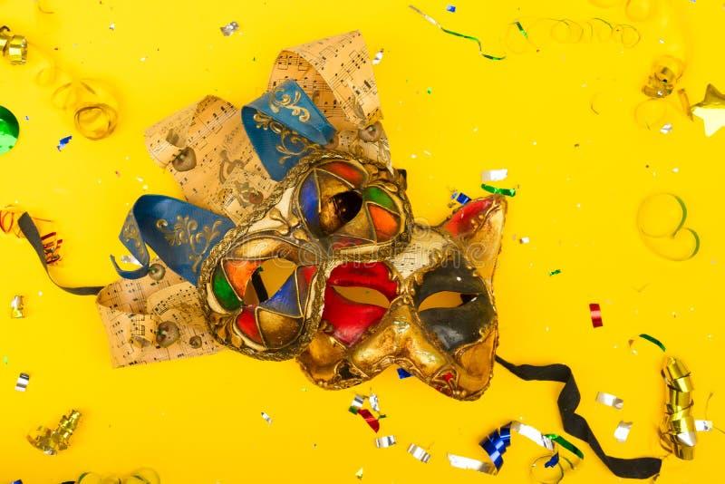 Scène colorée lumineuse de carnaval ou de partie photo stock
