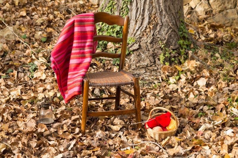 Scène confortable d'automne images stock