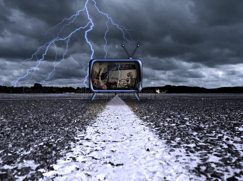 Scène de cauchemar photos libres de droits