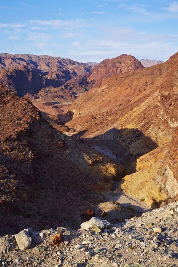 Scène de désert de Gobi photographie stock