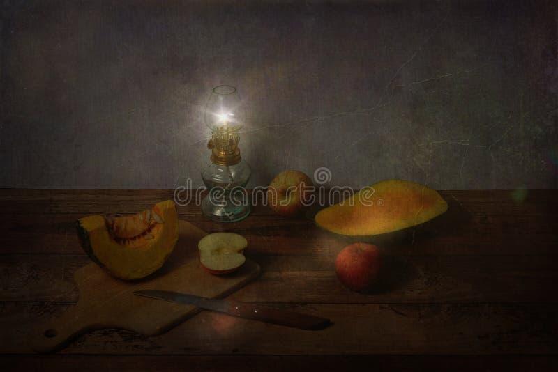 Scène de fruits de vintages photographie stock