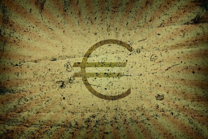 Scène de l'euro photographie stock libre de droits