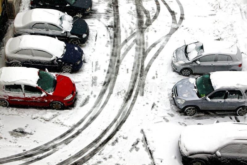 Scène de l'hiver photo libre de droits