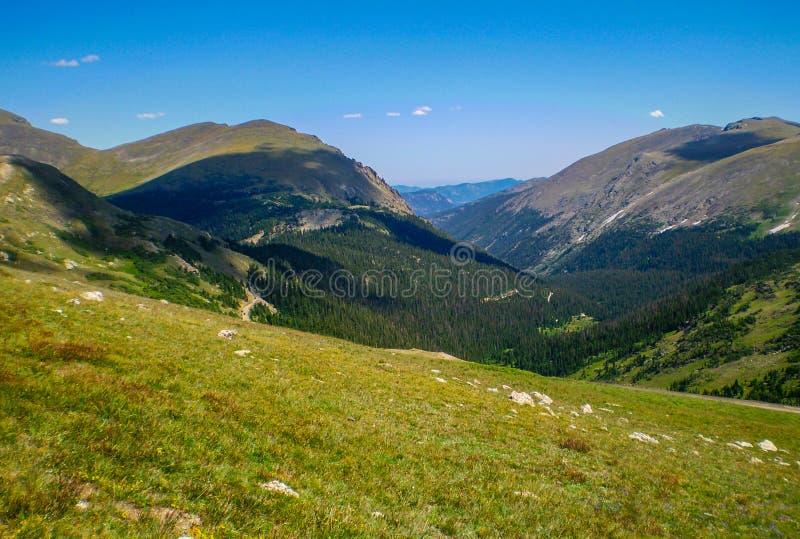 Scène de montagne de fin d'été du Colorado photo libre de droits