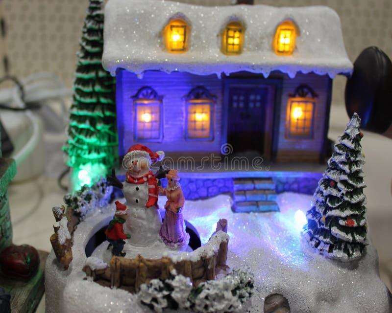 Scène de Noël photographie stock