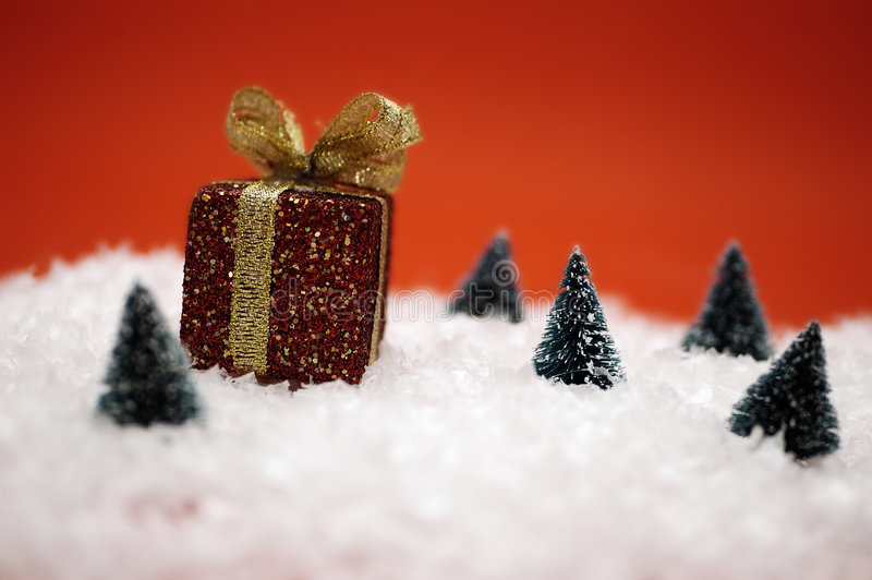 Scène de Noël images libres de droits