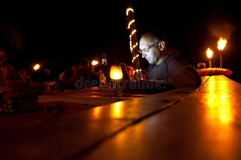 Scène de nuit photo libre de droits
