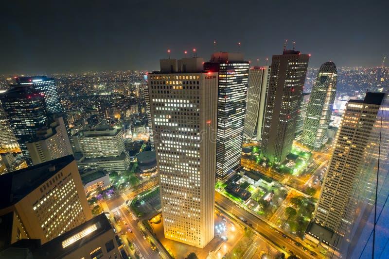 Scène de nuit de Tokyo image libre de droits