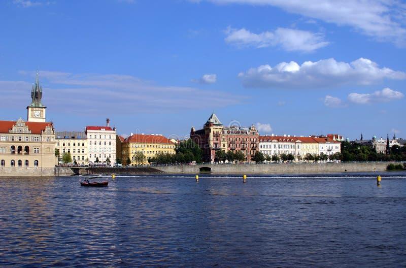 Scène de Prague photo libre de droits