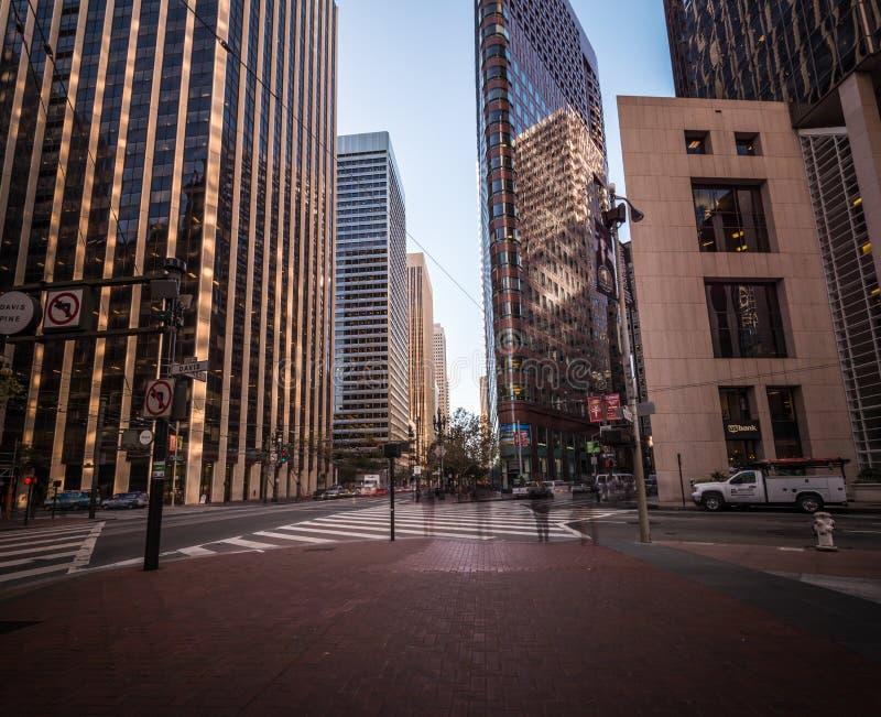 Scène de rue à San Francisco images stock