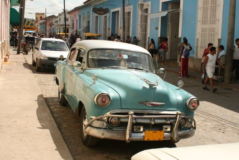 Scène de rue au Trinidad photographie stock libre de droits