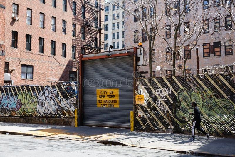 Scène de rue de Manhattan images libres de droits