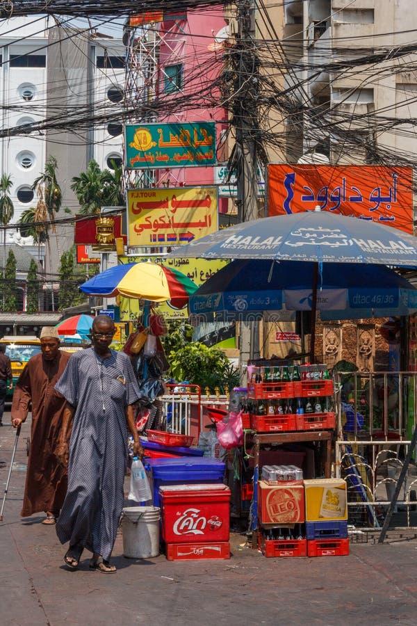 Scène de rue, peu d'Arabie photo libre de droits
