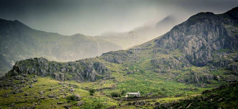 Scène de Snowdonia photos libres de droits
