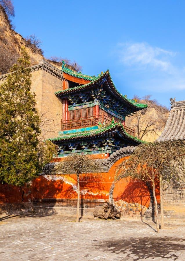 Scène de temple de Jingyin images stock