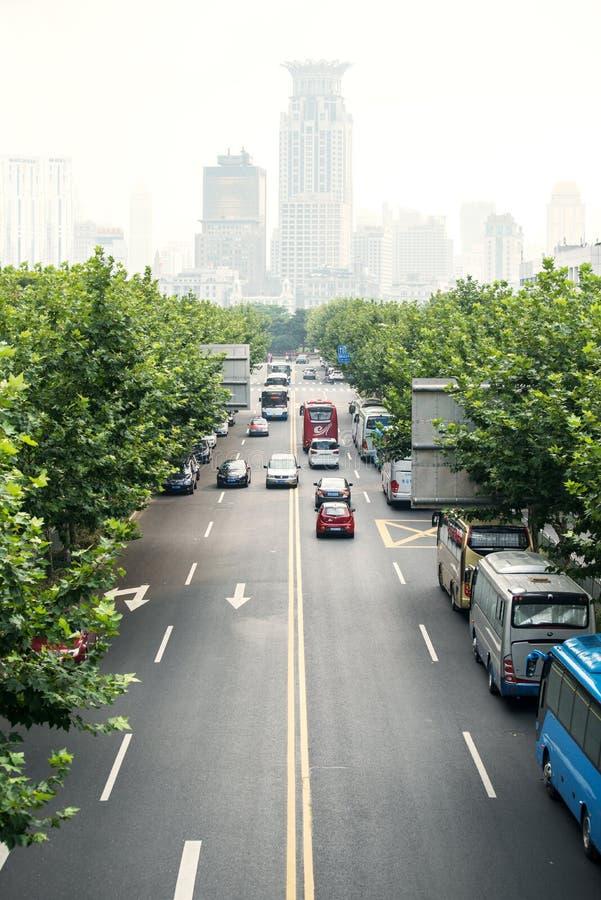 Scène de voie urbaine photos stock