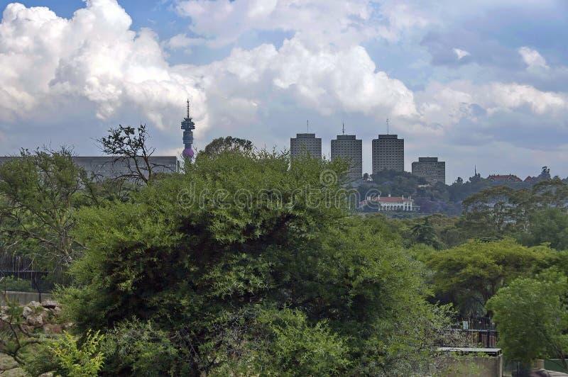 Scène de zoo de Johannesburg photo stock