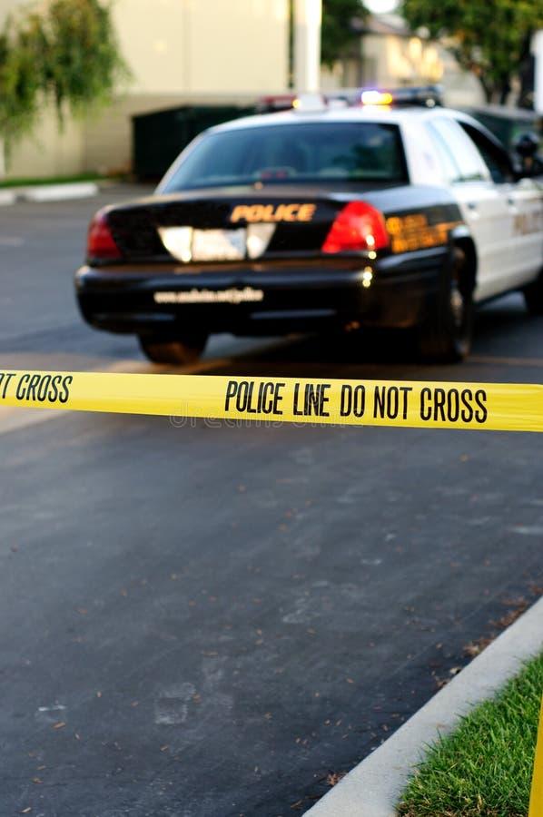 Scène du crime image libre de droits