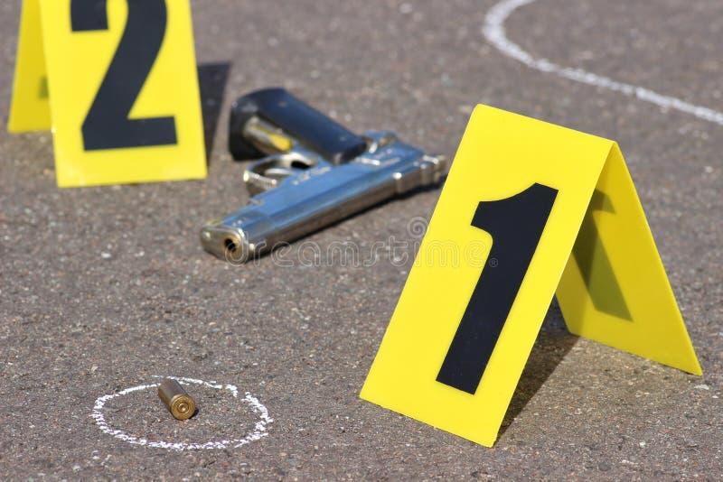 Scène du crime 08 photographie stock