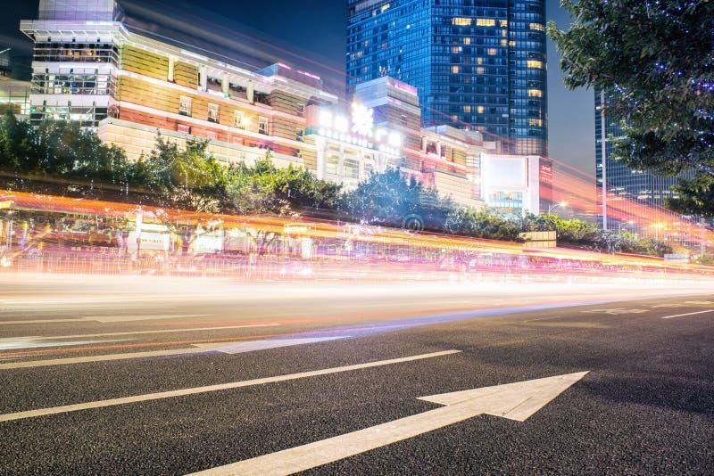 Scène du trafic urbain photo stock