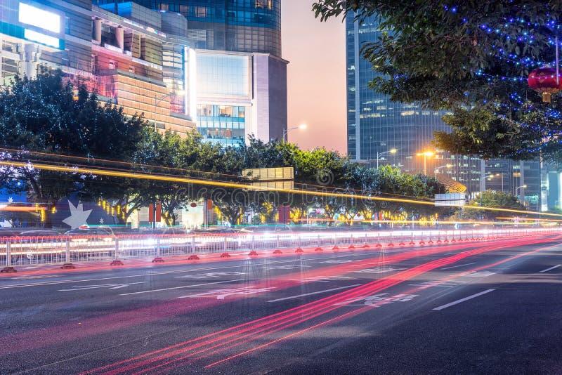 Scène du trafic urbain image libre de droits