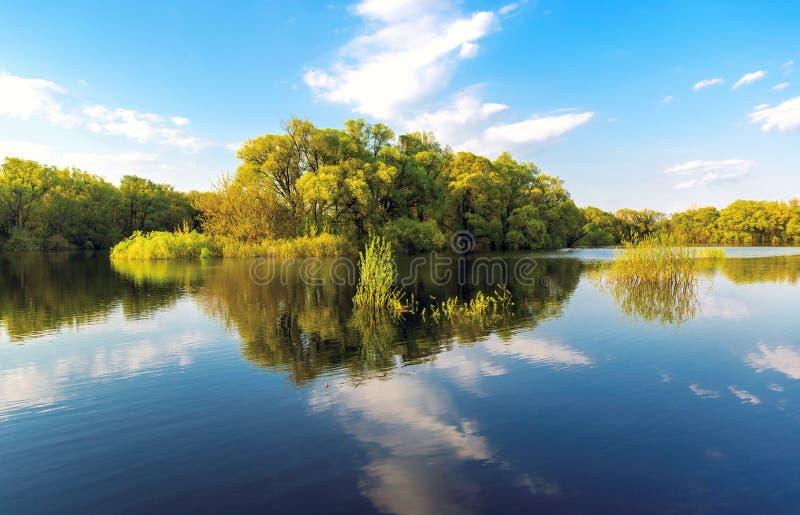 Scène gentille de rivière images stock