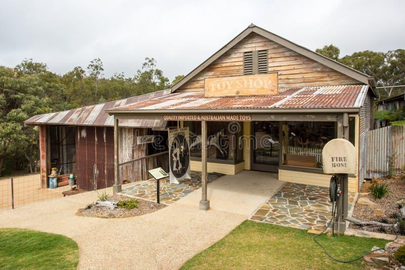 Download Scène Historique De Village De Herberton Photo stock éditorial - Image du australie, pionnier: 76084278