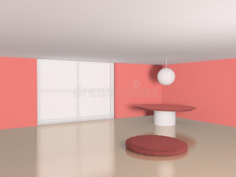 Scène intérieure illustration stock