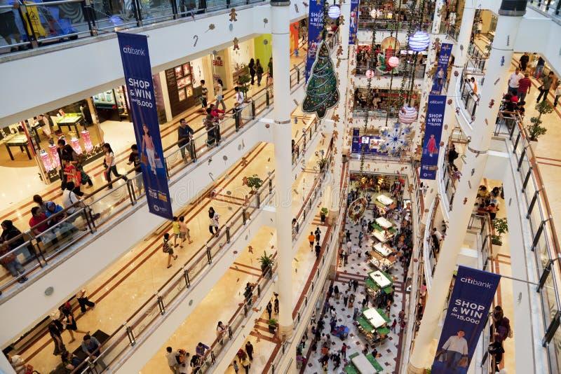Scène malaisienne d'achats image libre de droits