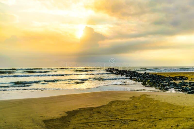 Scène mexicaine de plage photo stock