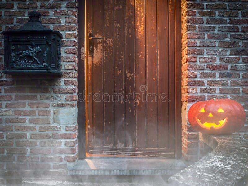 Scène mystérieuse de Halloween photo stock