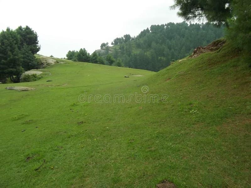 Scène naturelle entraînante de Sudhnoti Cachemire photo libre de droits